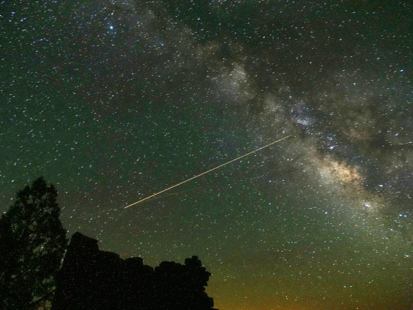 6 000 Visible Stars Light America' 'dark Sky' Parks