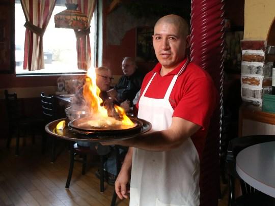 Rigo Ochoa of Yanni's Grill and Vineyard in Ankeny