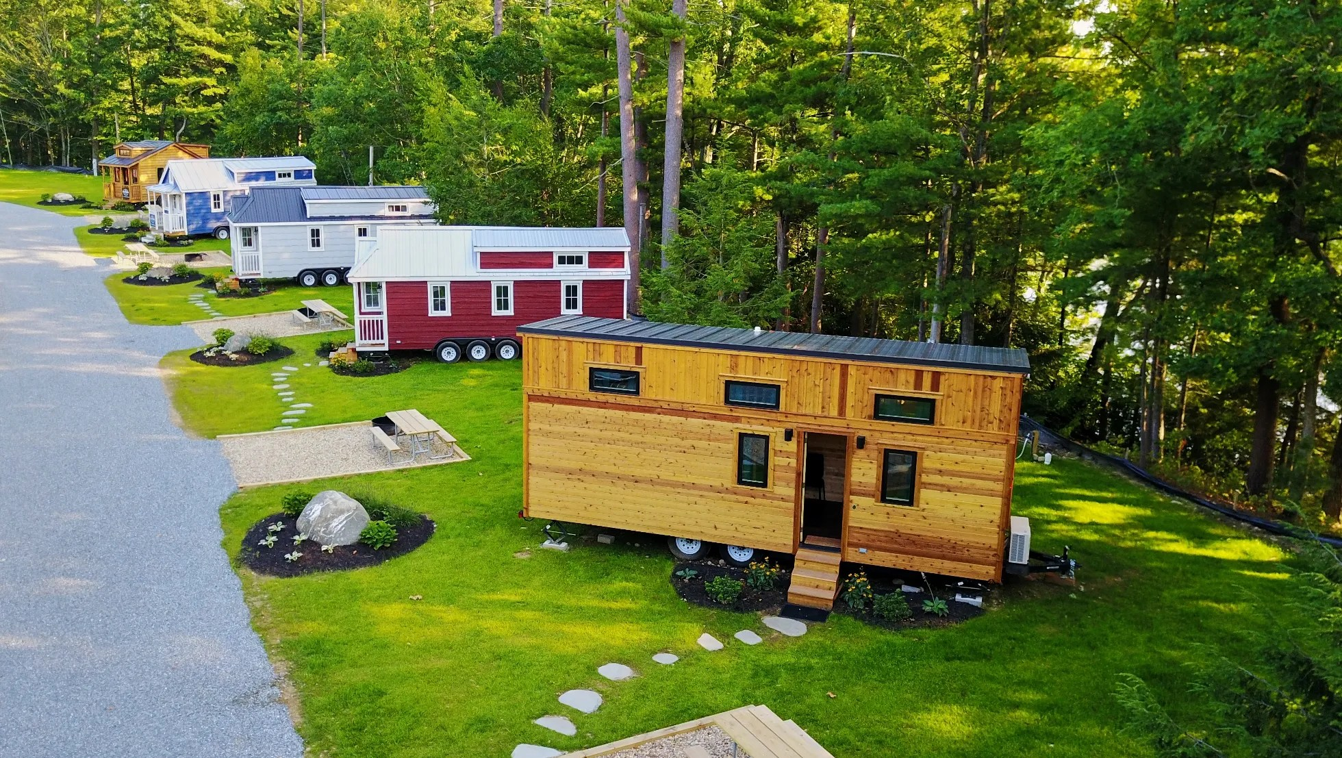 Tiny Houses Vacation Rentals Provide Test Drive On