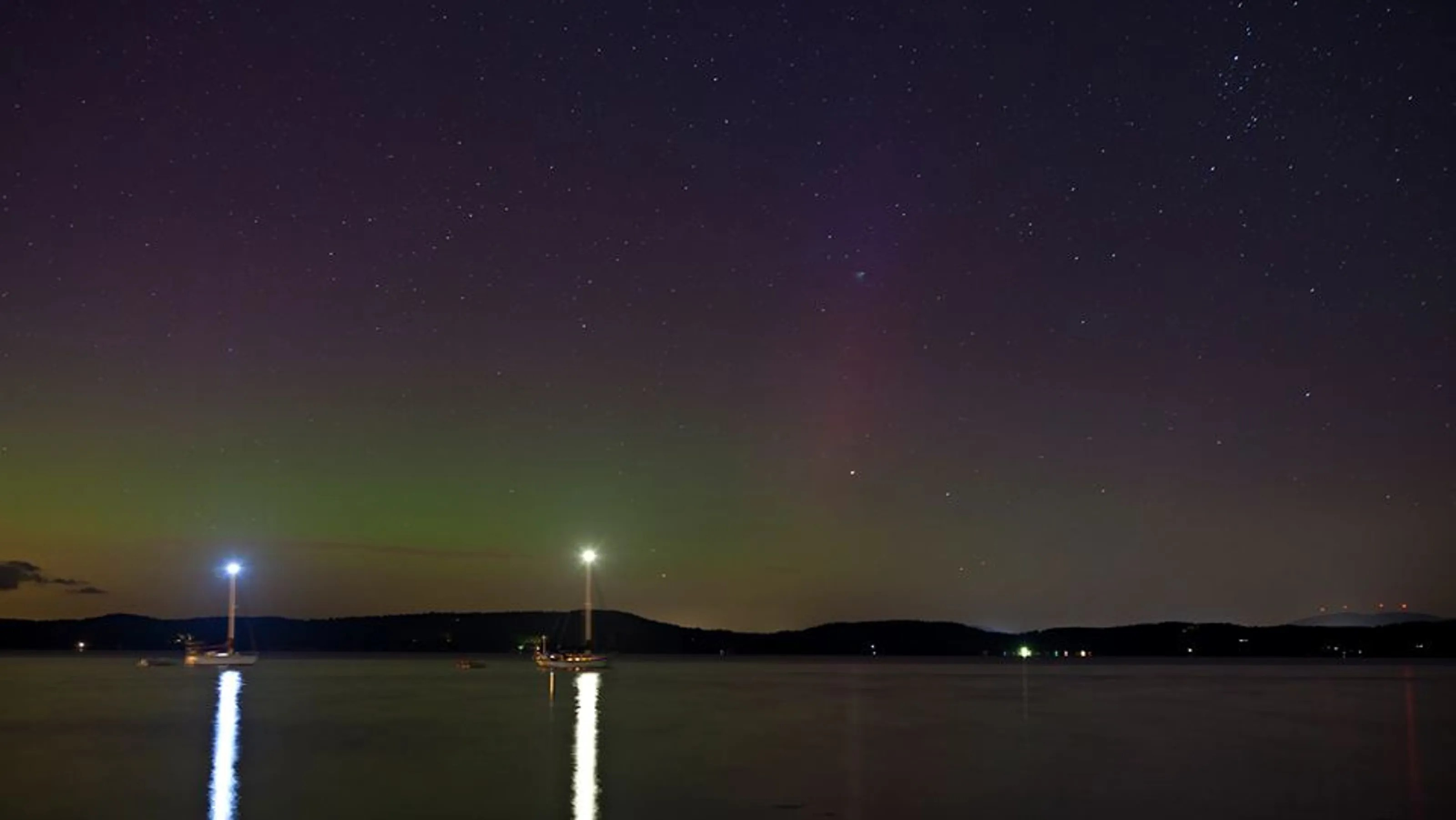 Northern Lights Burlington Vt