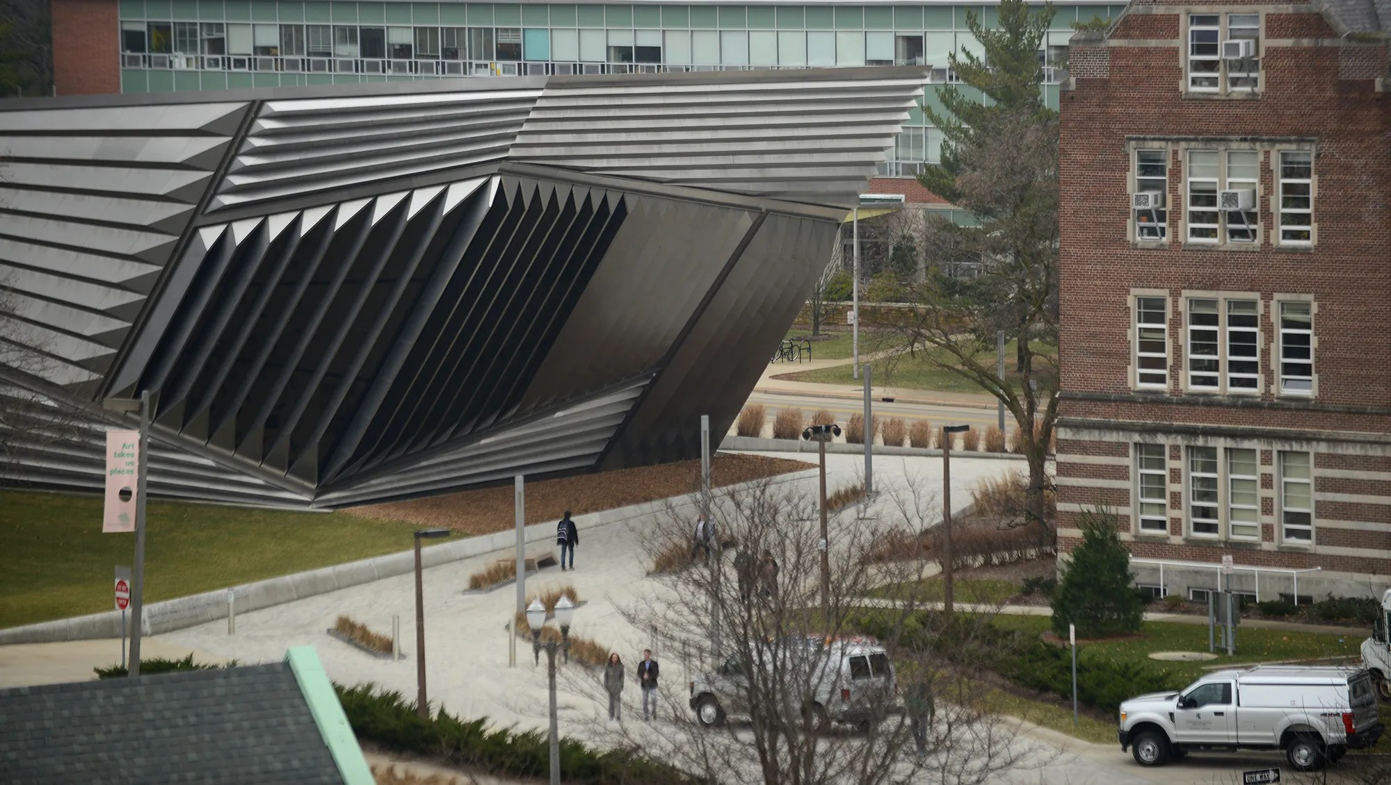 Michigan State' Broad Art Museum Expand In East Lansing