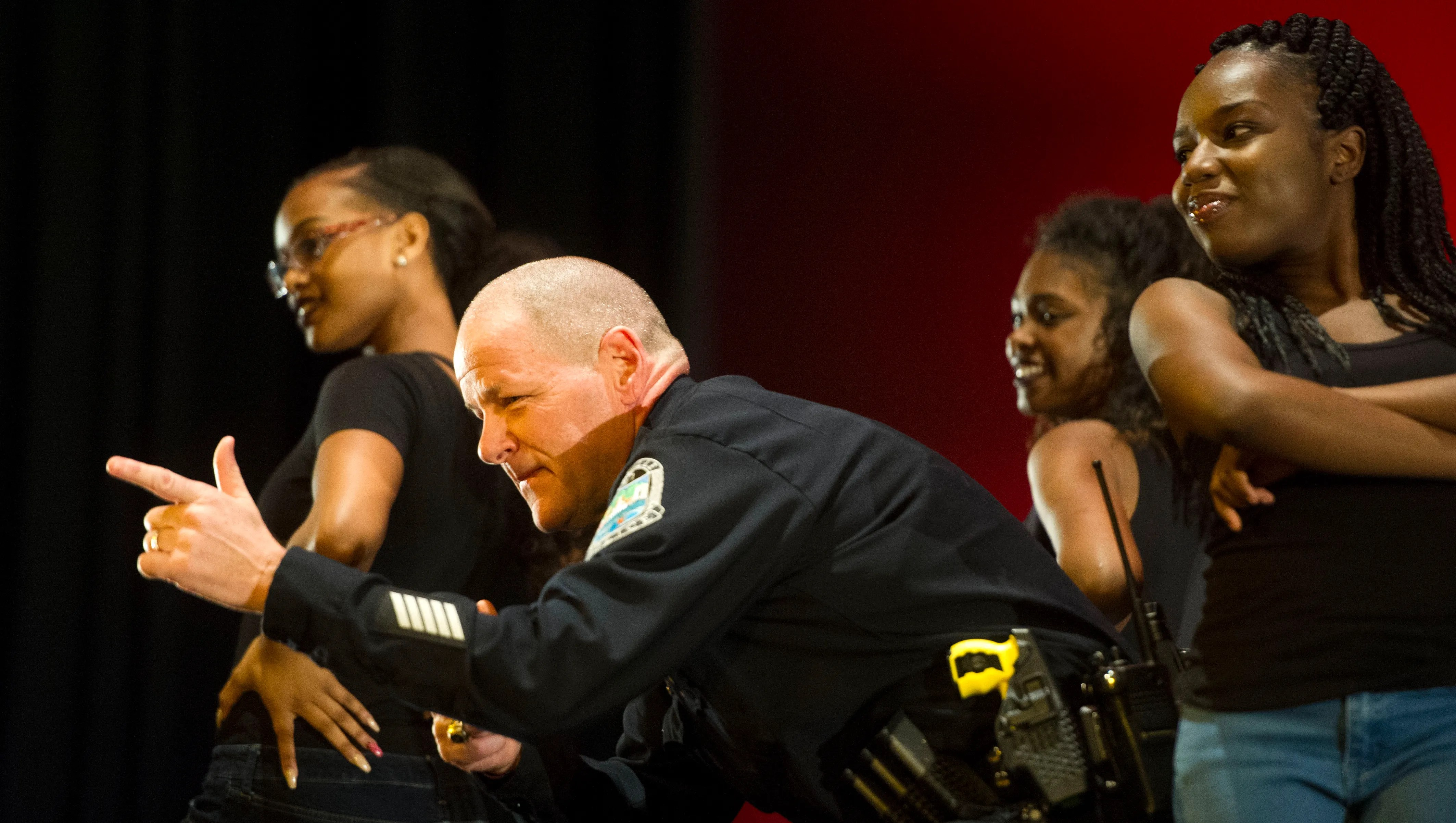 Kpd Officers Dance With Students Black History Month Show