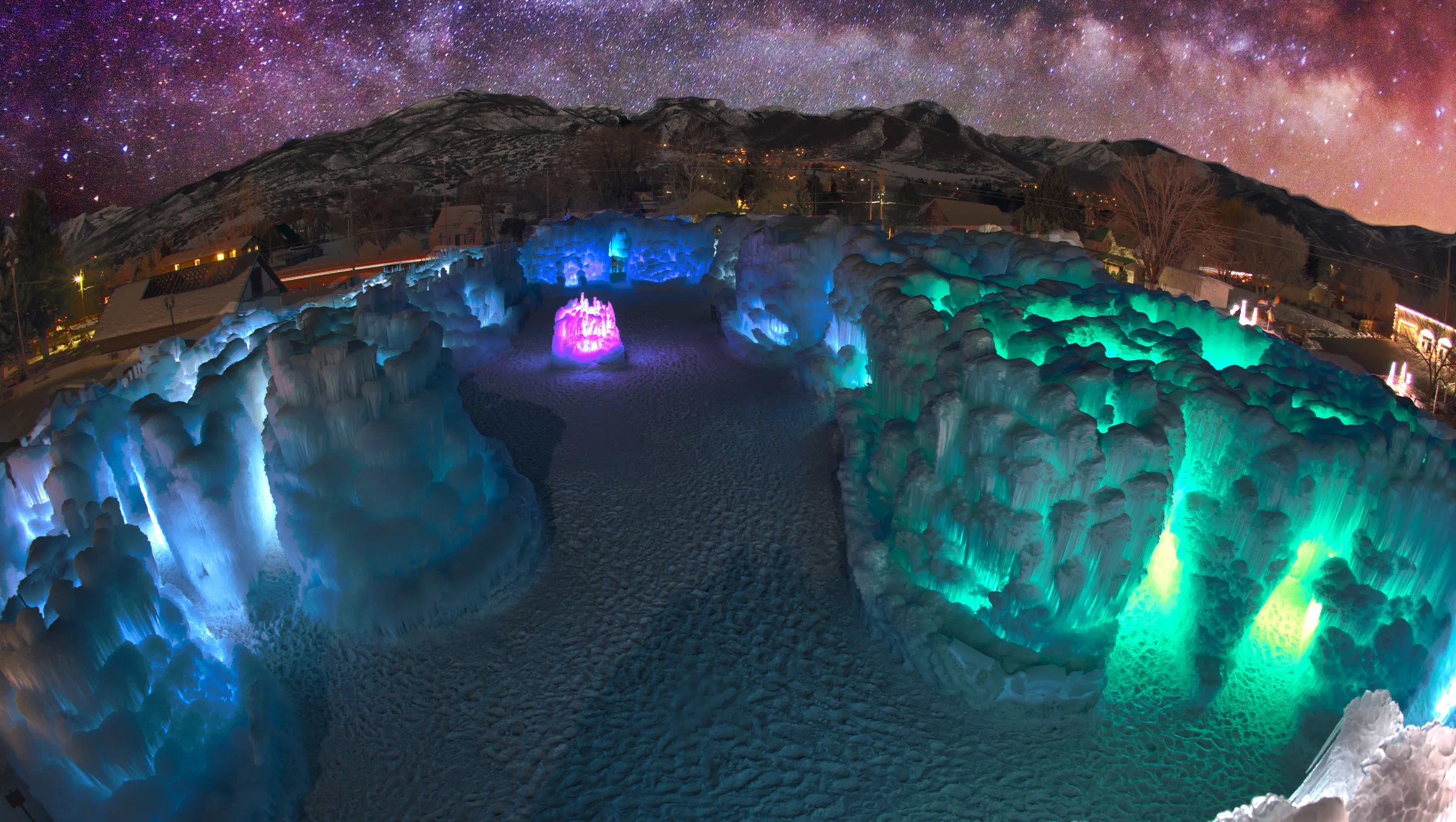 ice castle to open