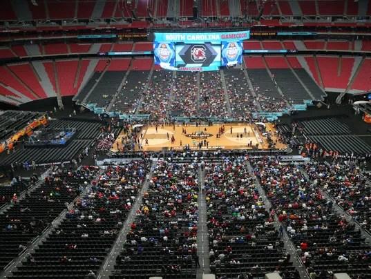 NCAA Final Four in Glendale: South Carolina