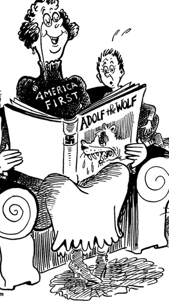 Dr. Seuss' inspired political cartoons re-emerge amid