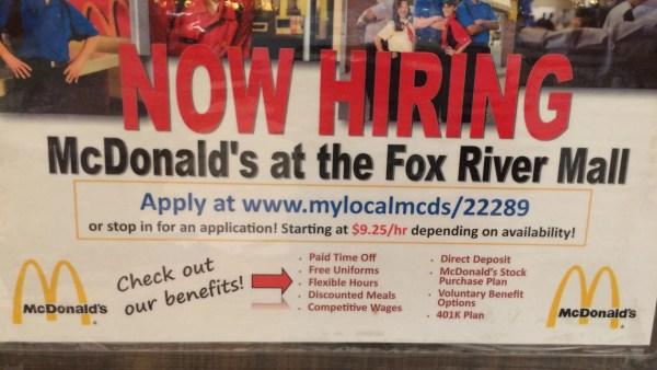Jobs Begging In Fox Cities