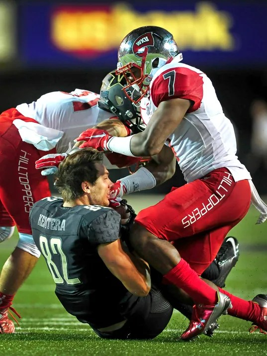 44592a575 Western Kentucky Hilltoppers 2015 Uniforms 12-2 (9-0) Conference USA and  Miami Beach Bowl Champions – Uni-Tracker