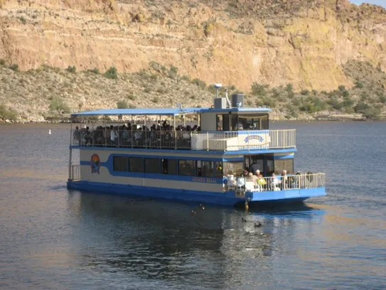 Desert Belle offers a relaxing, narrated cruise on