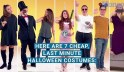 7 last minute Halloween costumes