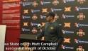 Matt Campbell talks about Iowa State's successful October