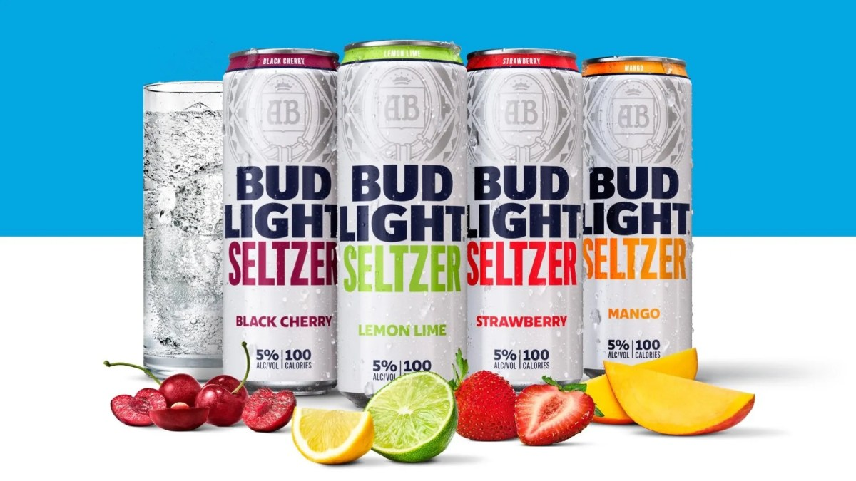 Bud Light Seltzers will hit stores this week.
