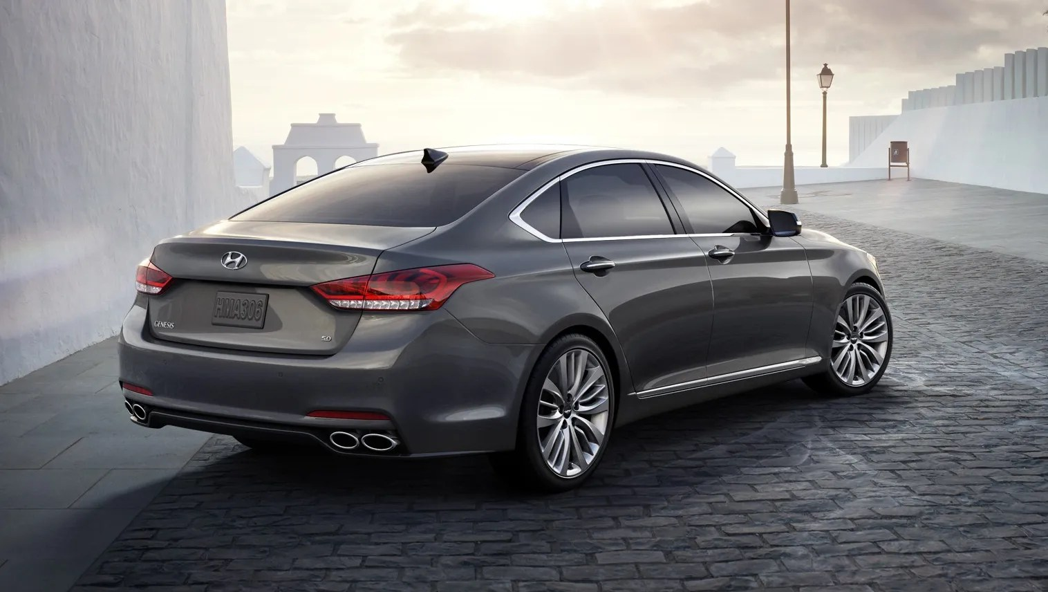 The hyundai motor company owns about a third of kia motors. Auto review: 2015 Hyundai Genesis encourages you to ask