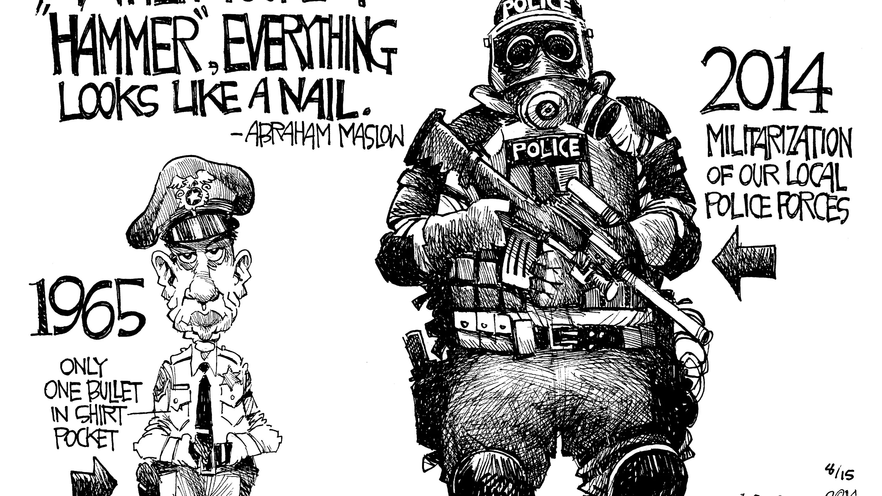 CARTOON: Police changes