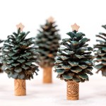 Christmas Diy Pinecone Trees