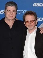 Gustavo Santaolalla, left, and Paul Williams
