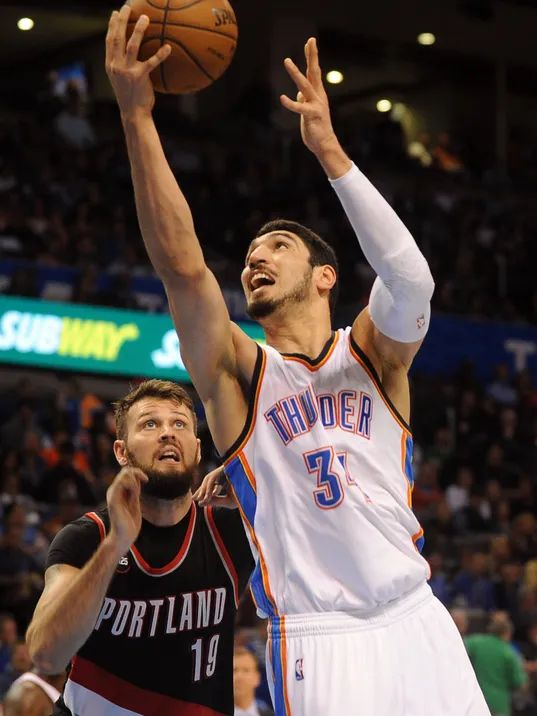 enes kanter trail blazers contract