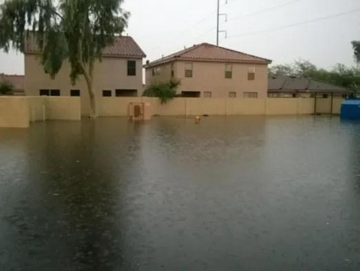 Storm swamps Phoenix Mesa flooding a slowmoving disaster