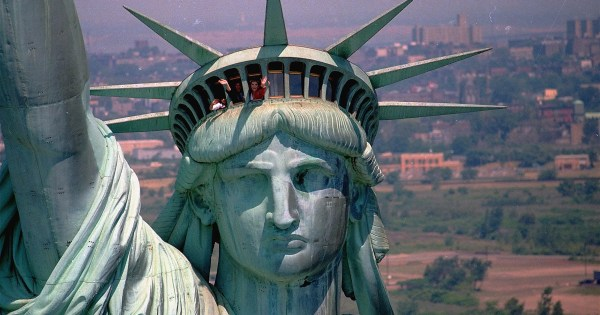 Statue Of Liberty Years