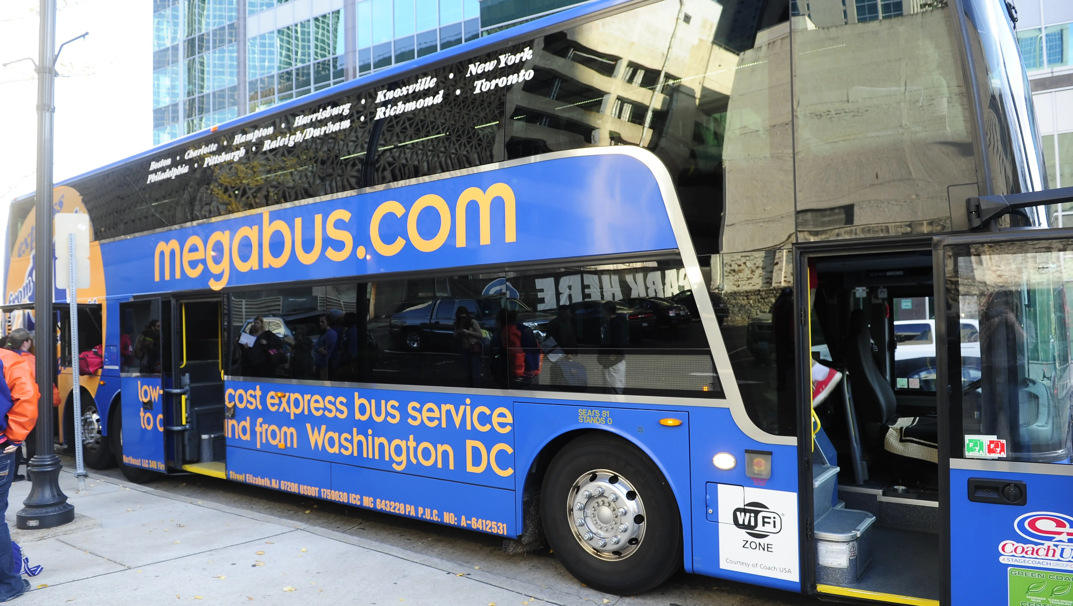 Megabus Bus Routes - Year of Clean Water