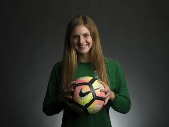 Tucson Salpointe Catholic junior goalkeeper Madison