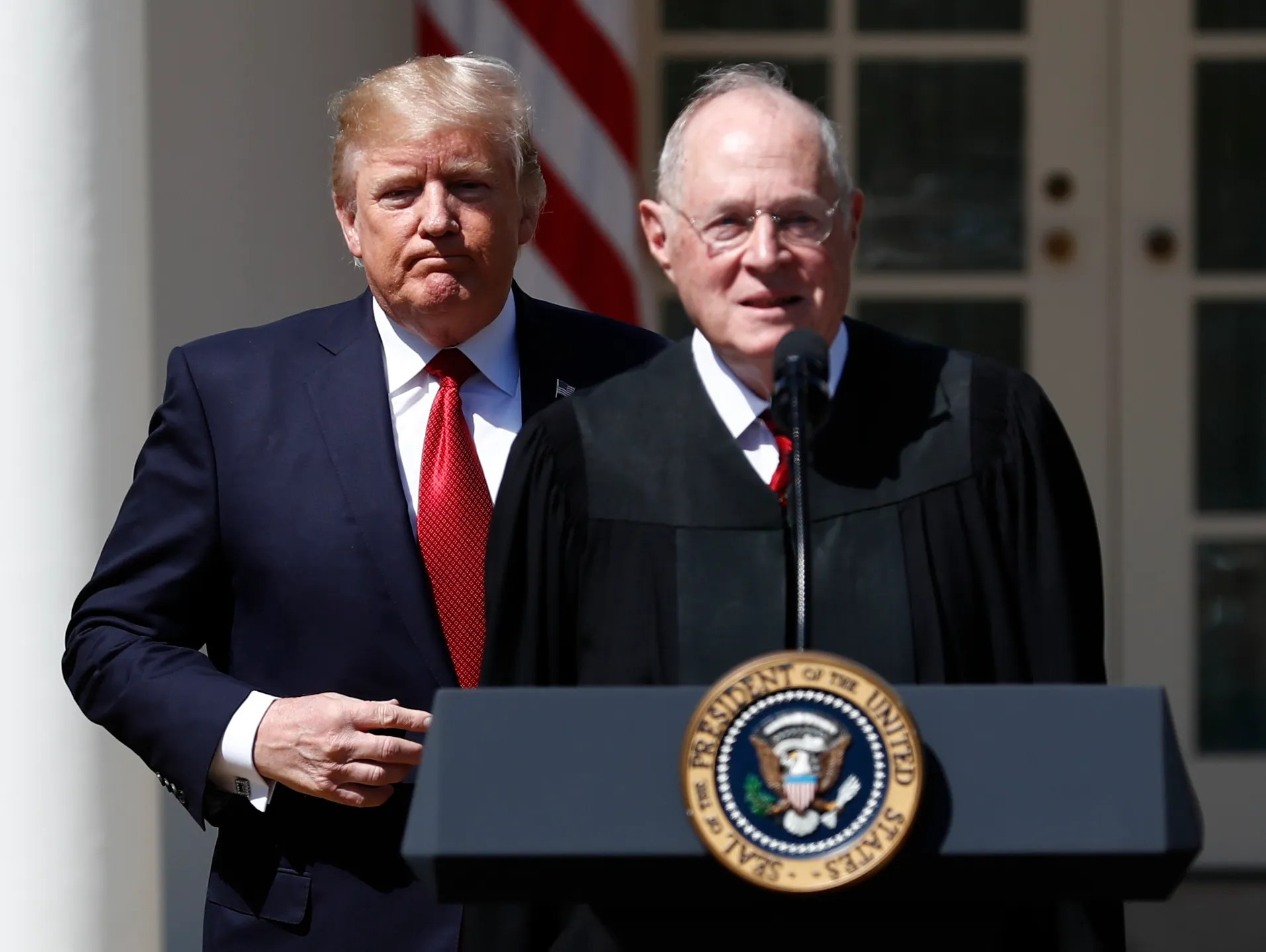 AP SUPREME COURT KENNEDY RETIRES A FILE USA DC