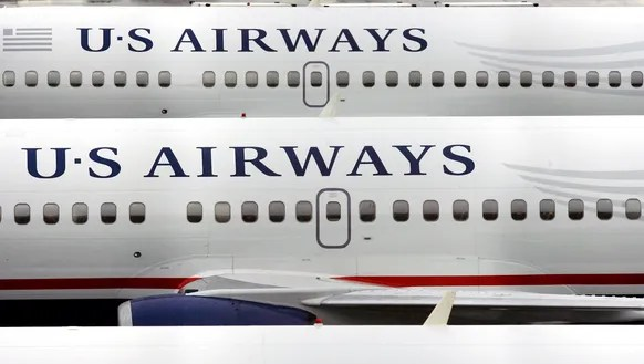 US Airways planes at Phoenix Sky Harbor Airport on