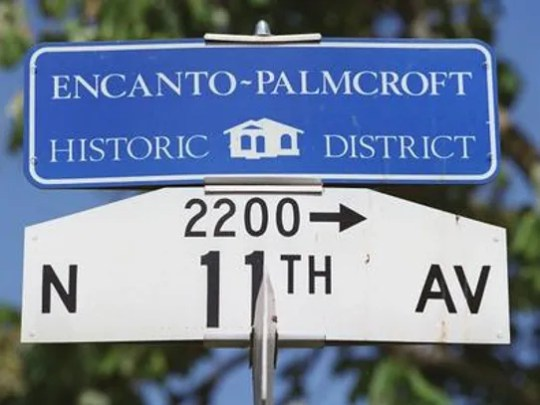 Encanto-Palmcroft Historic District