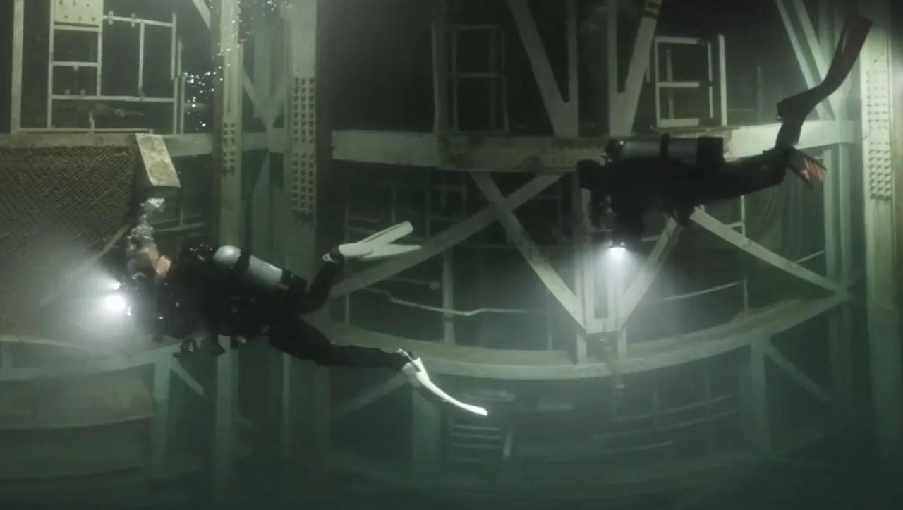 Nike Missile Silo Inside Abandon