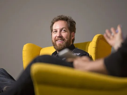 Tech investor Chris Sacca listens to a question on