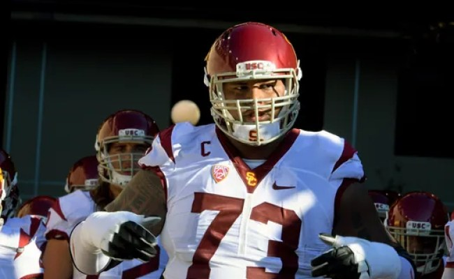 Usc Ot Star Goes To The Colts In Fourth Round Of Nfl Draft