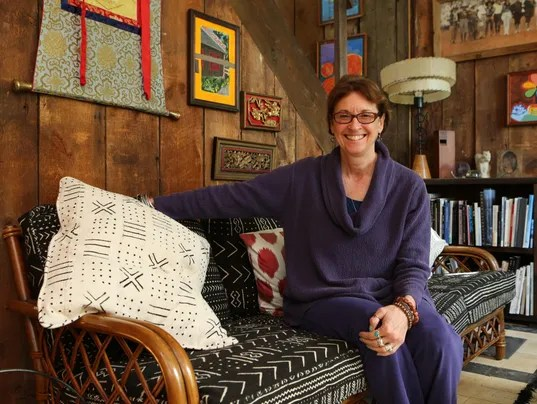 "When Kristi Zea moved to her hilltop home in Valley Cottage in 2004, she says, ""I realized that it was really kind of perfect."" (Photo: Mark Vergari/The Journal News)"