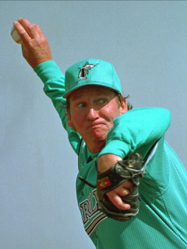 Any time you frown at the team's latest orange jerseys, just remember the original 1993 Florida Marlins look.