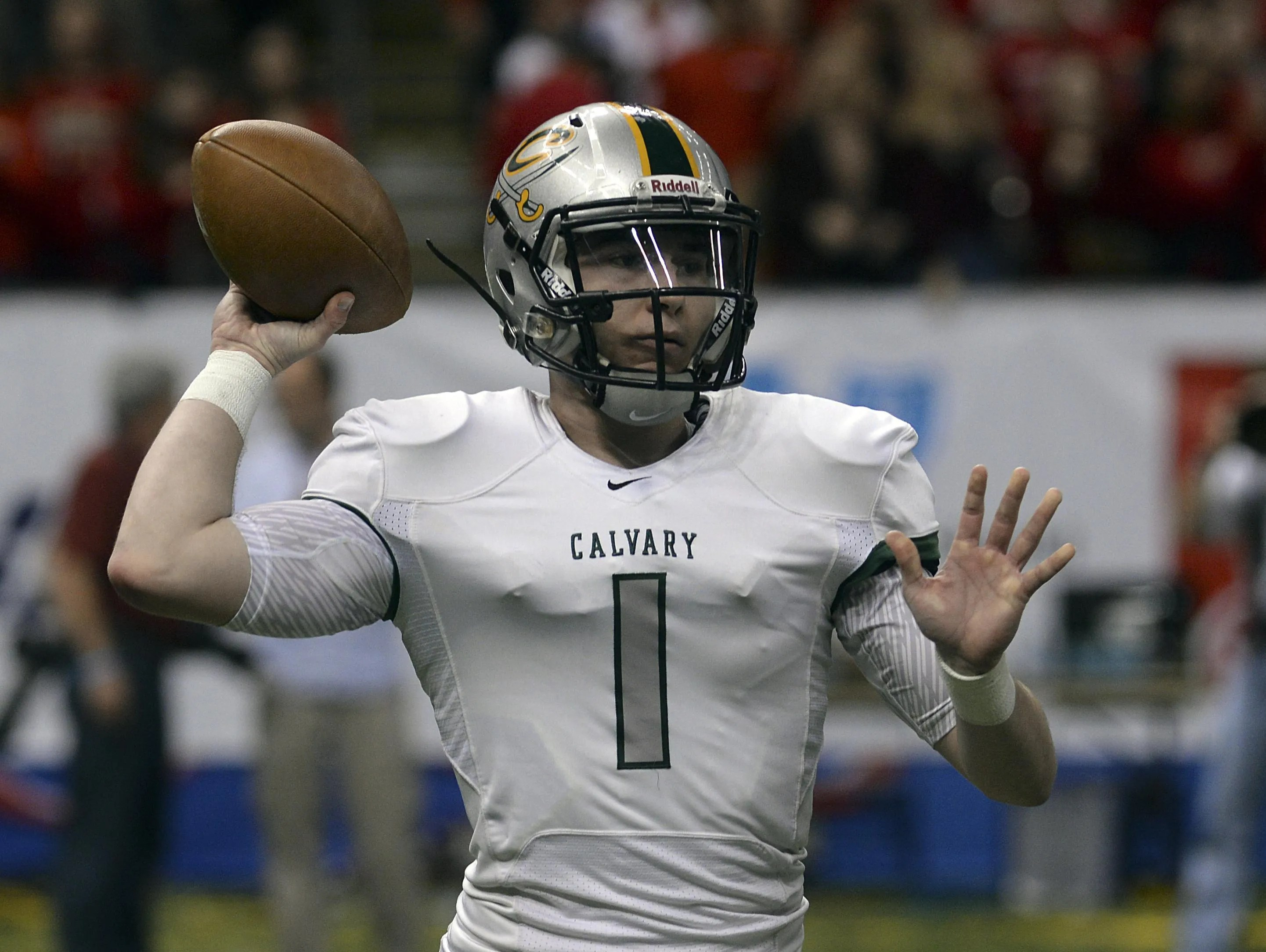 Ole Miss Commit Shea Patterson To Leave Calvary