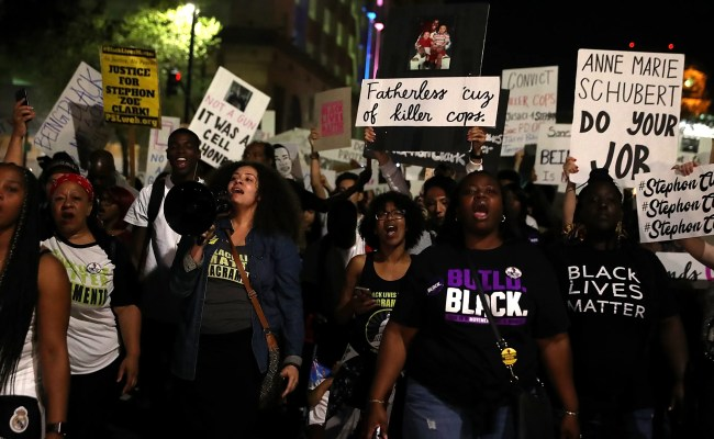 Black Lives Matter Stephon Clark Protests March On In