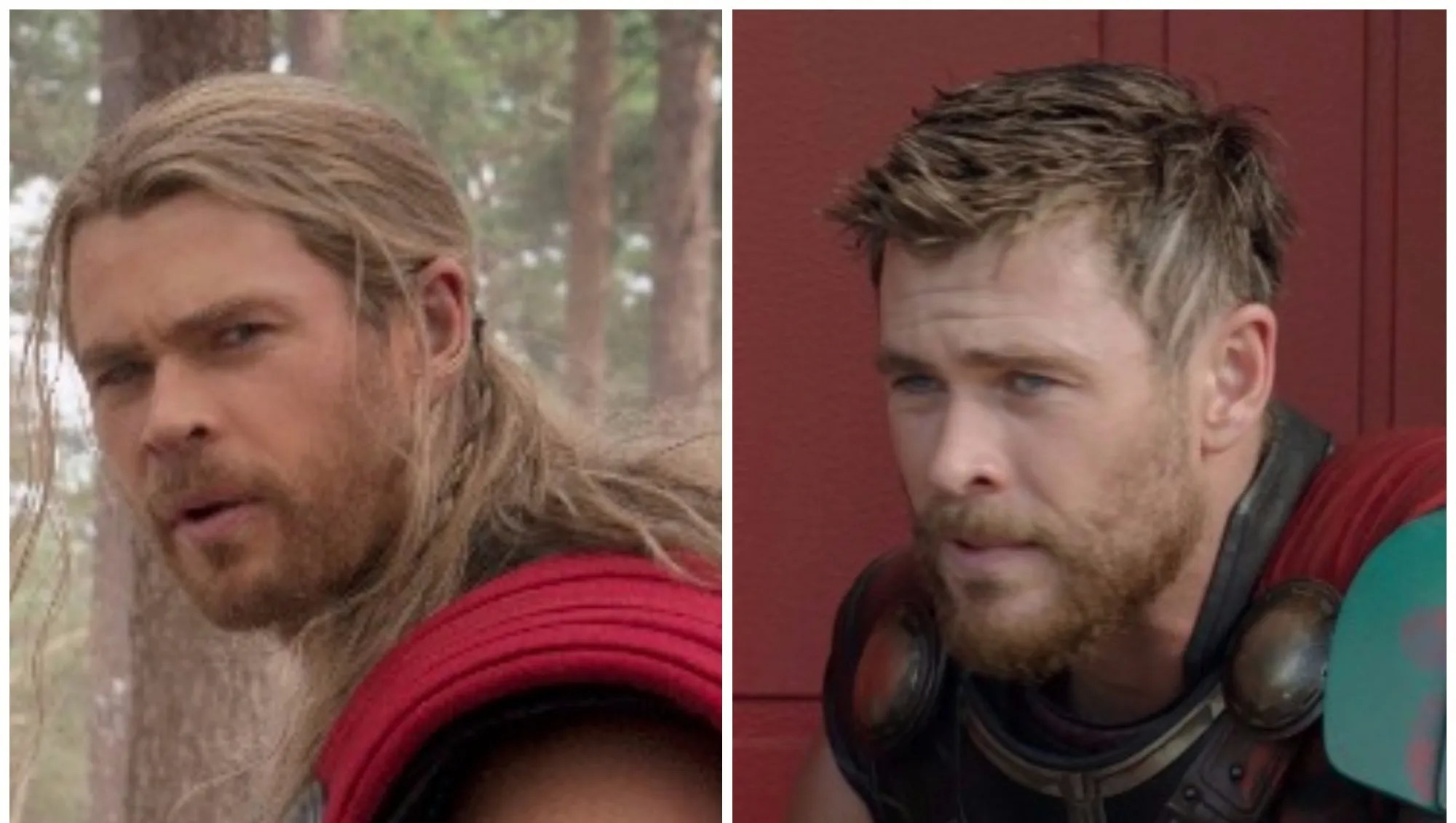 Thor Ragnarok Whats With The Short Hair On Chris