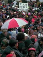 On Oct. 25, 1997, about 700,000 came to Philadelphia