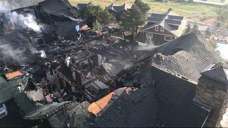 Fire Destroys Historic Marys Lake Lodge In Estes Park
