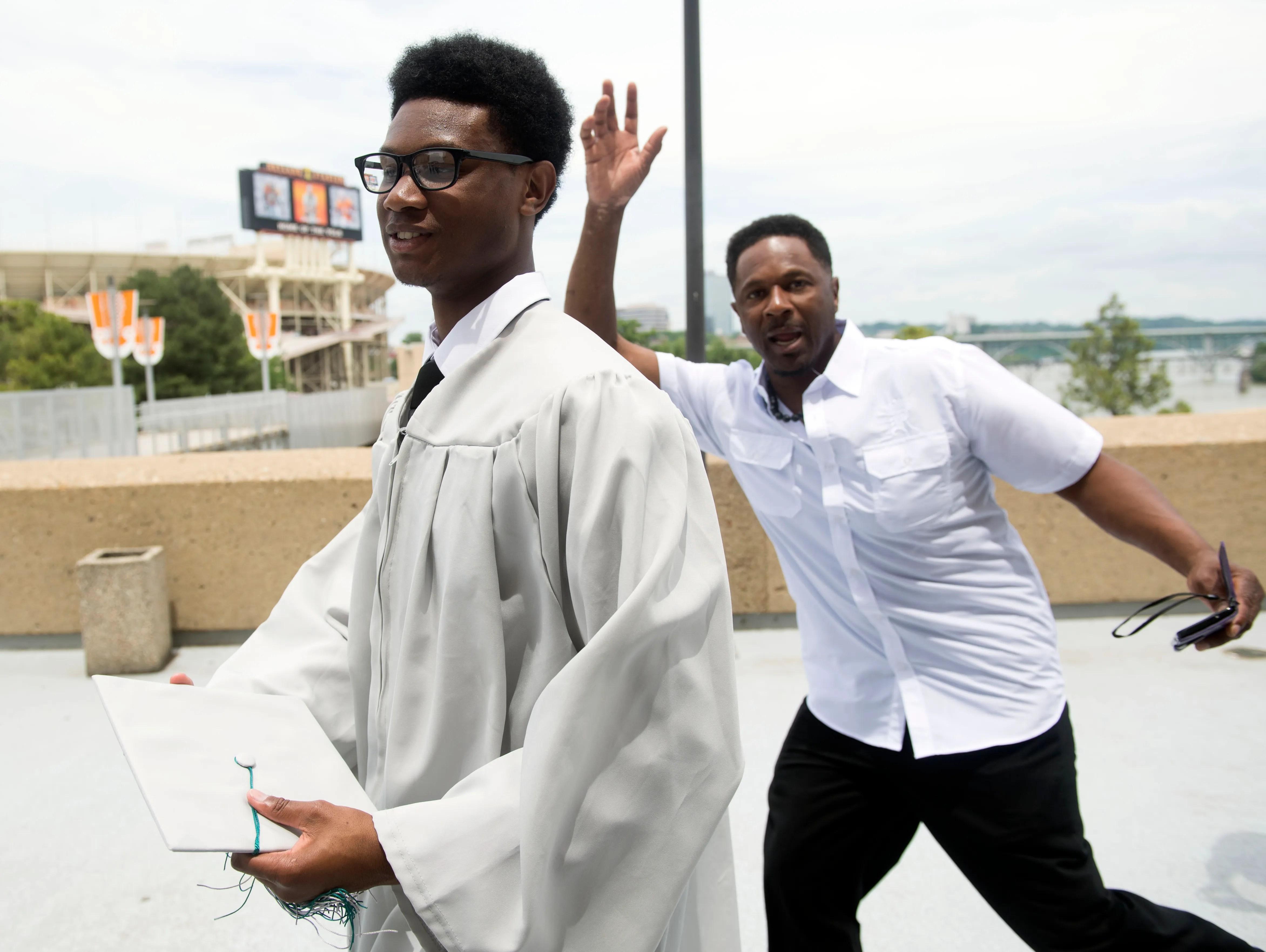 Graduation Boling Thompson Arena