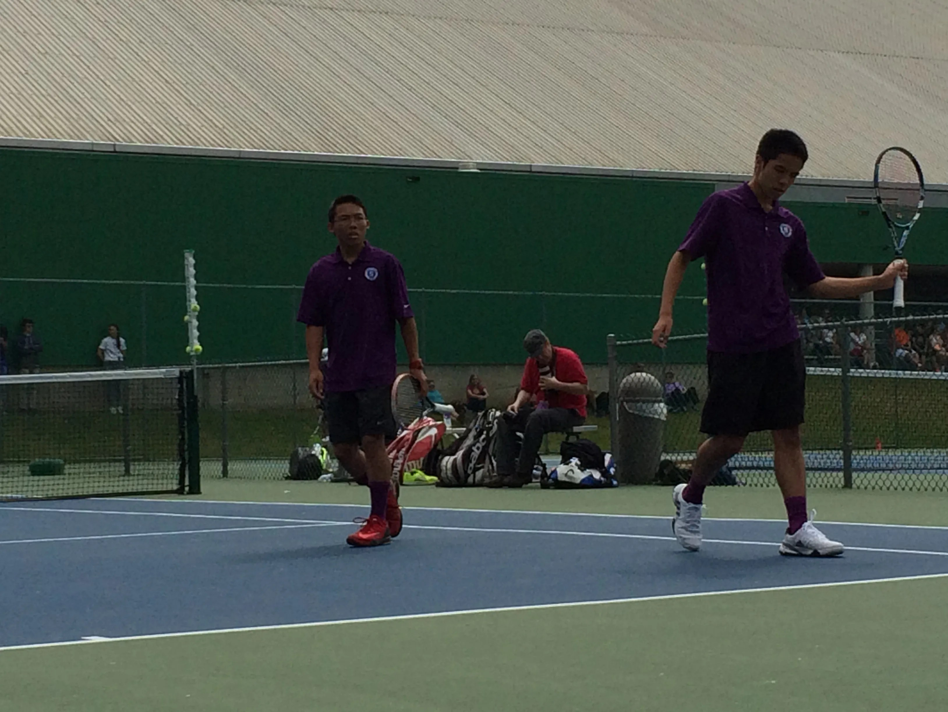 Is Sun Setting On Tennis In America >> Sunset And Jesuit Heading For Boys Doubles State Title Rematch