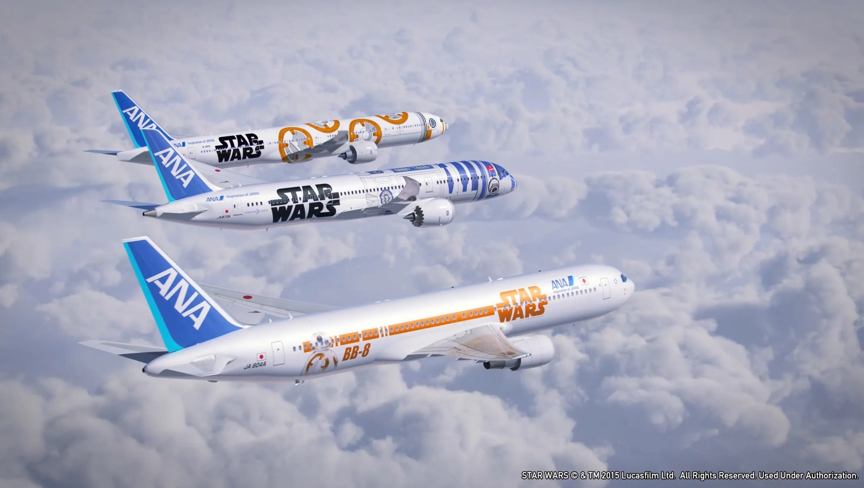 All Nippon Airways Adds Two More 'Star Wars' Jets