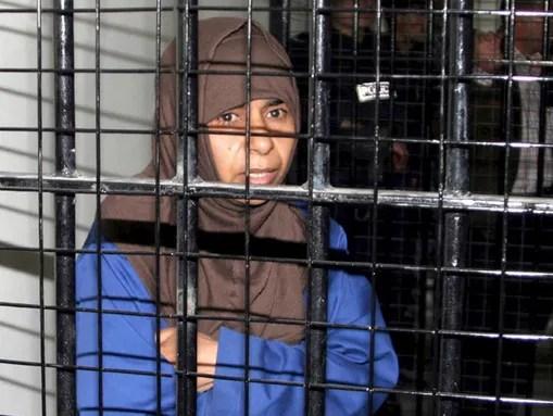 Sajida Mubarak al-Rishawi, the woman suicide-bomber