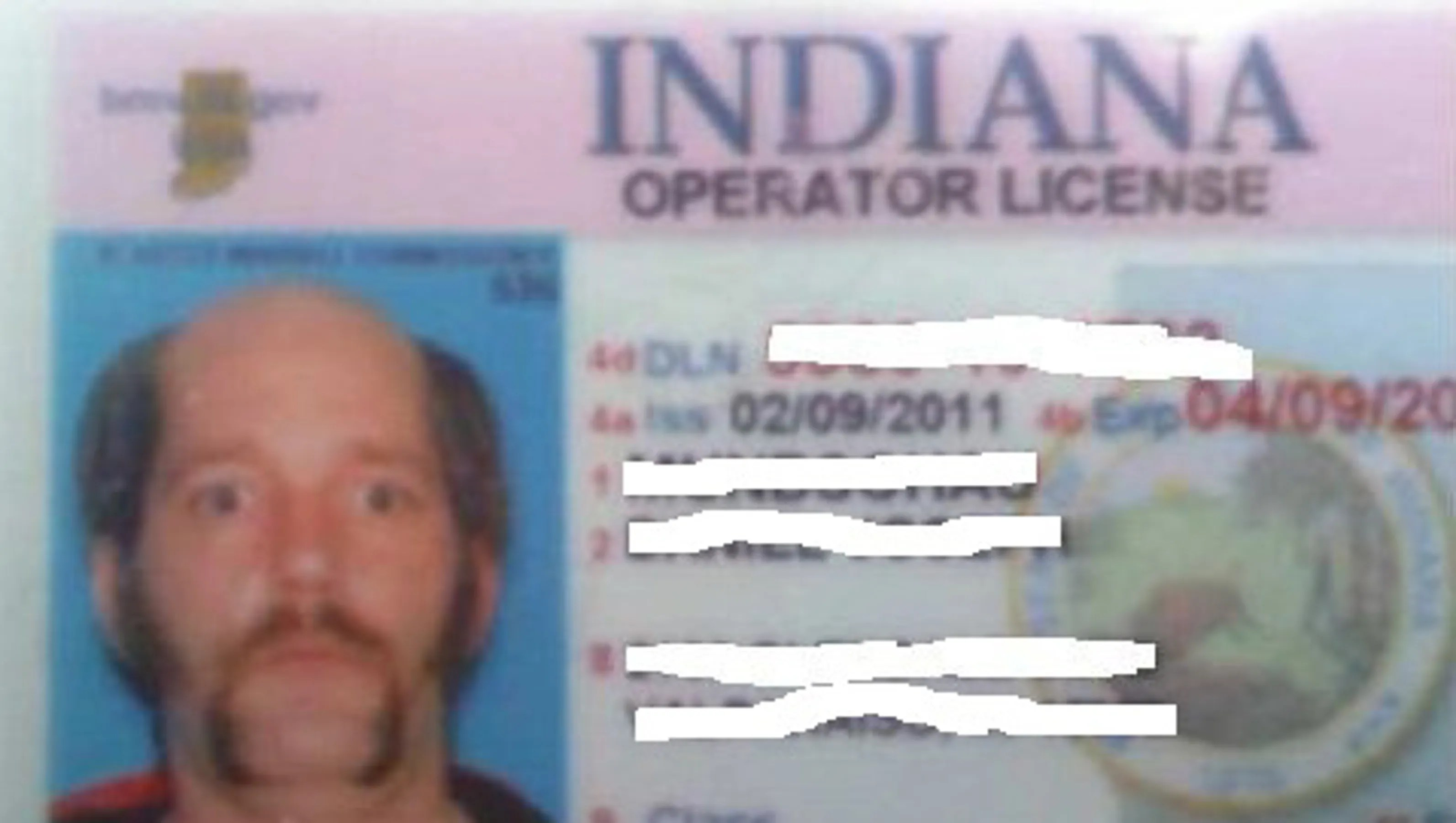Man S Crazy Indiana Driver S License Pic Goes Viral