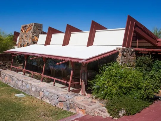 Taliesin West became a laboratory where Frank Lloyd