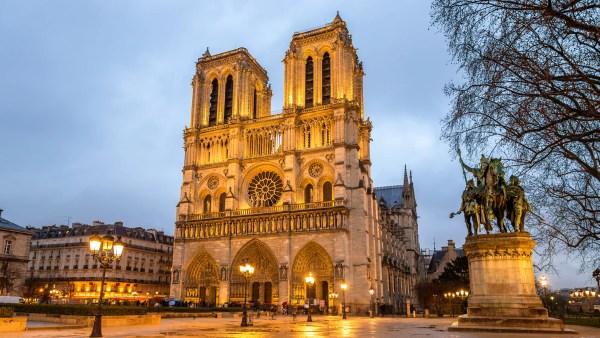 Stunning Notre Dame De Paris