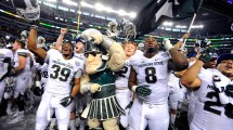 Michigan State Green White Football Game