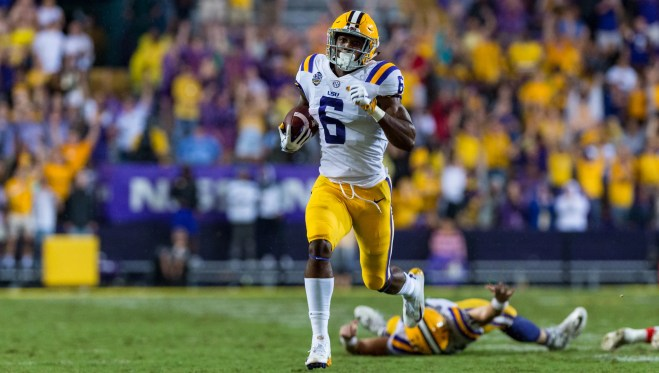 LSU receiver Terrace Marshall Jr. unfazed by setbacks in his life
