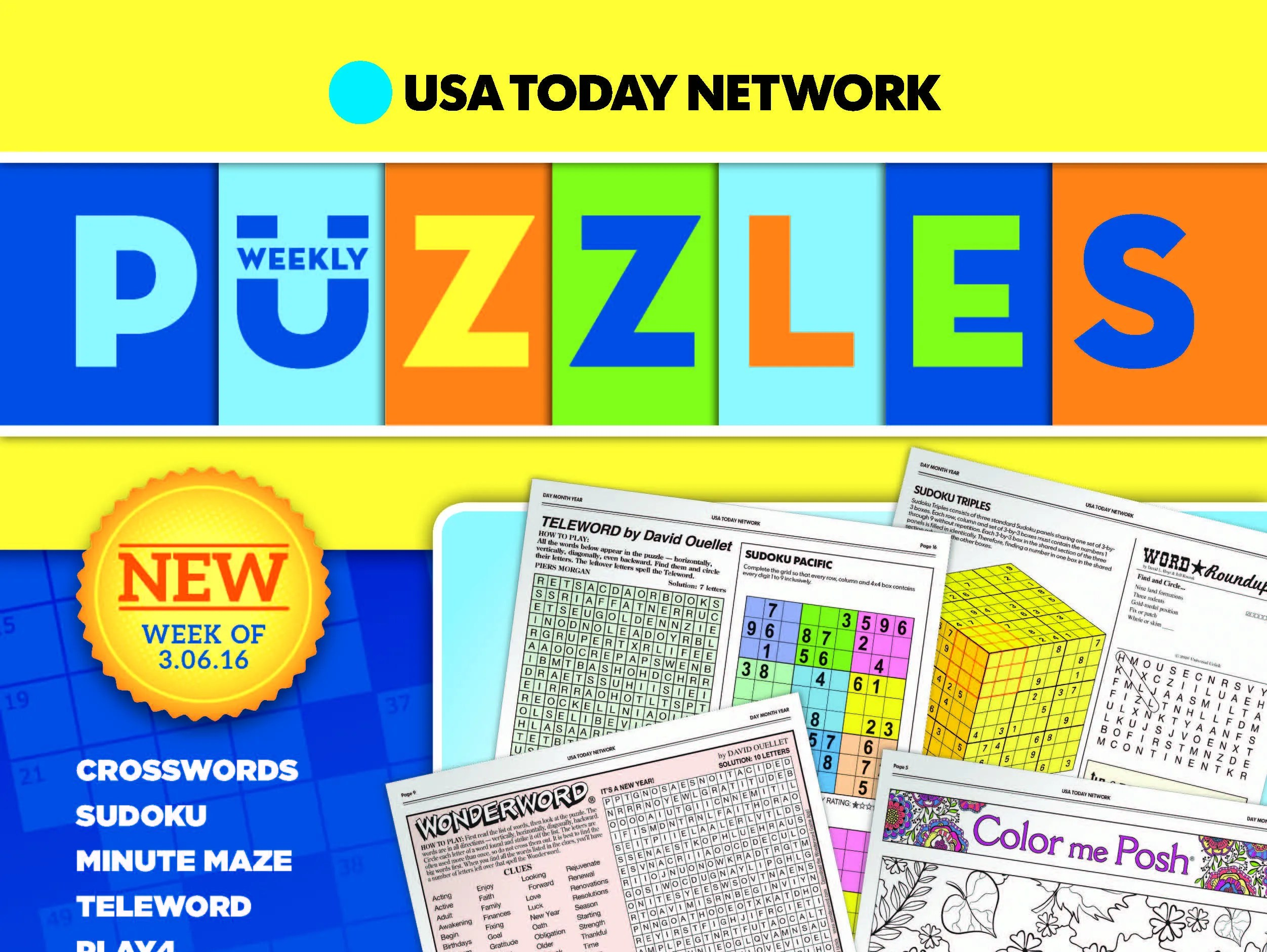 Puzzle Galore New Weekly Book Full Of Fun And Games