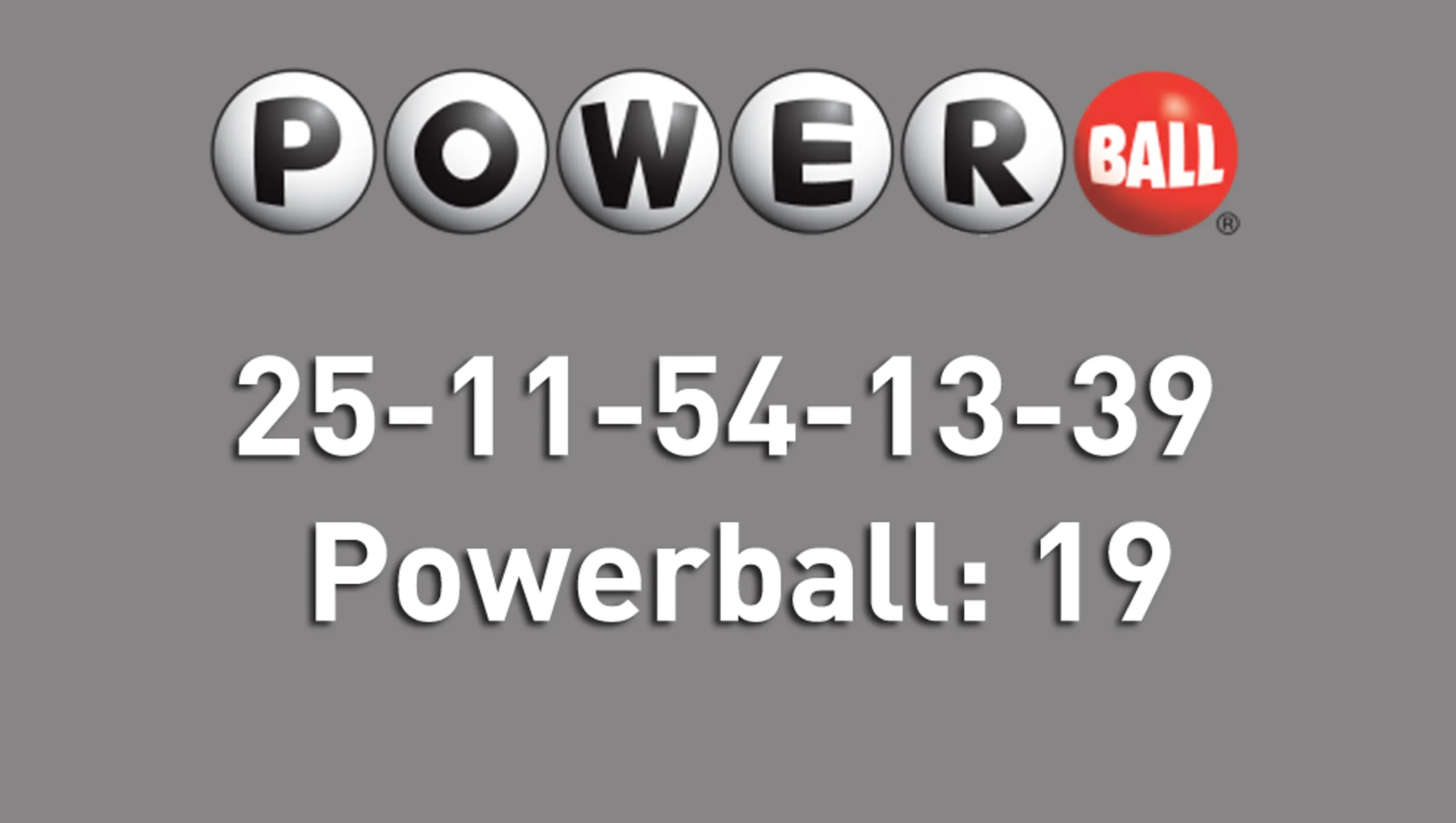 Powerball Numbers Yesterday