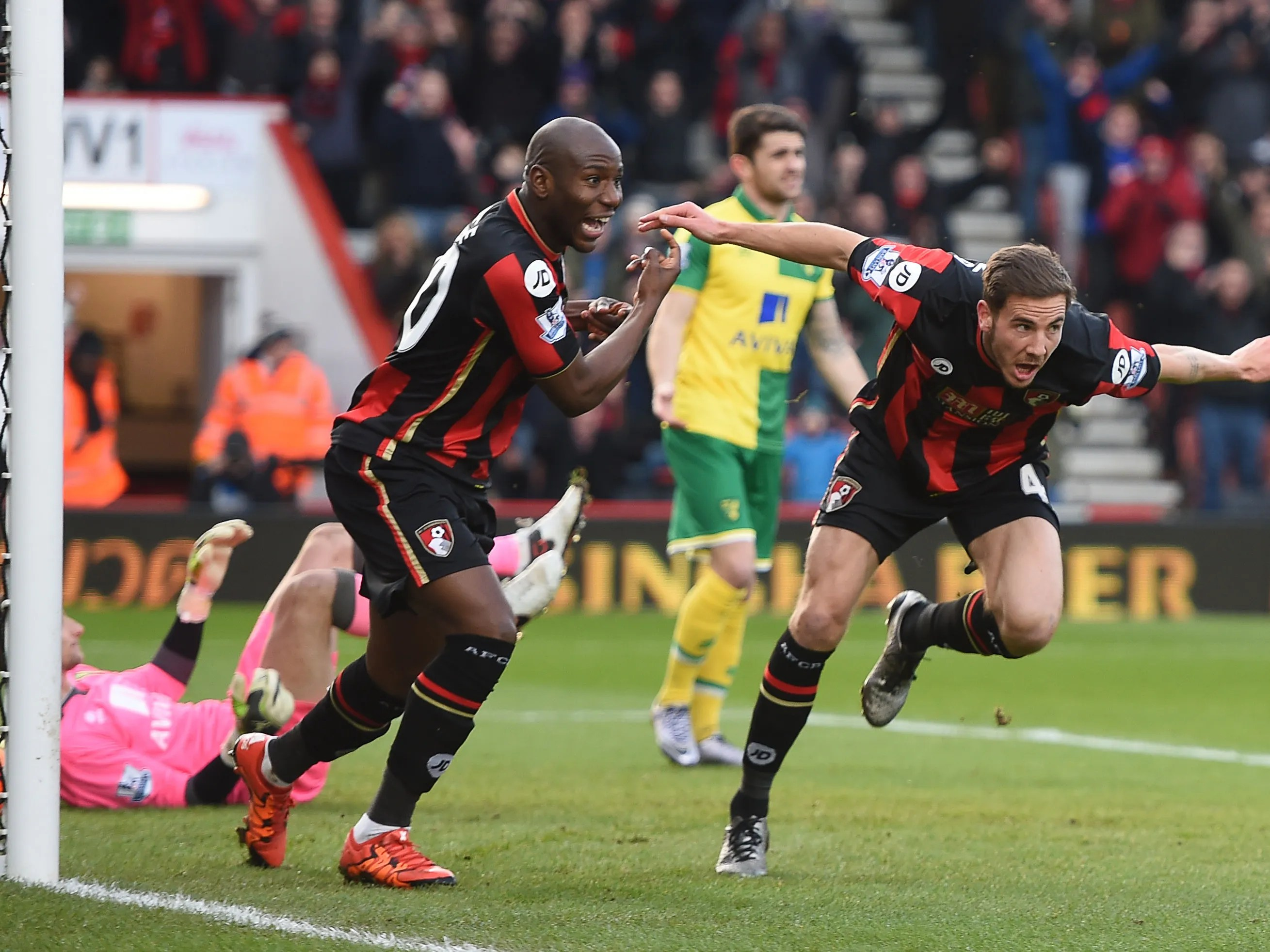 Bournemouth Notches Biggest Epl Win 3 0 Over Norwich