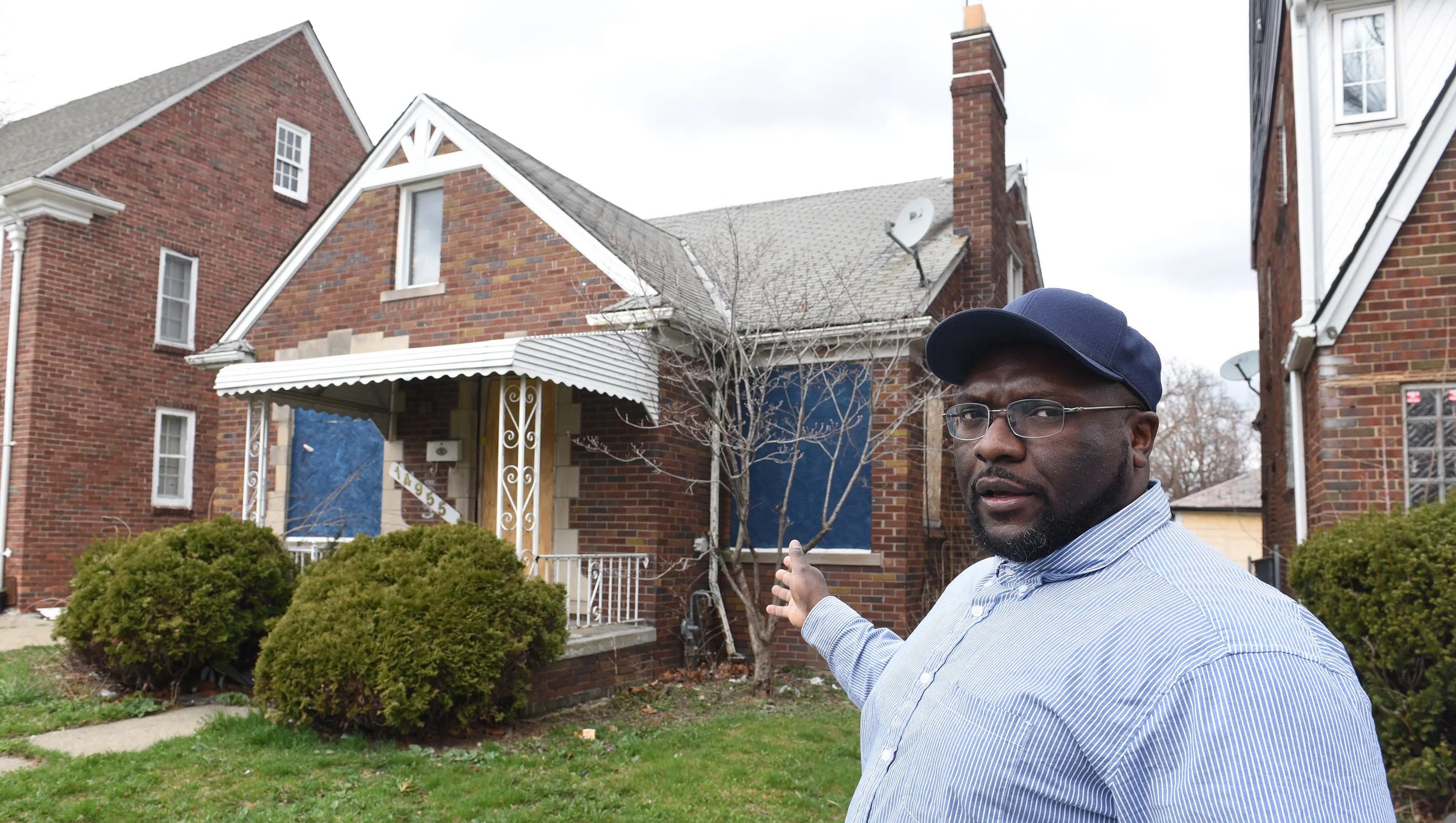 Residents around Detroit's 'Red Zone' want better for community